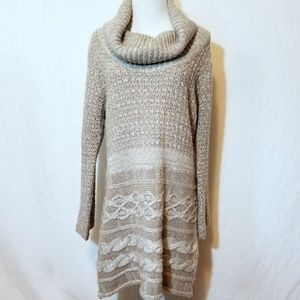 Soft Surroundings Sweater Dress - No Belt Sz PXL